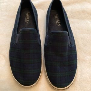 Ralph Lauren slip on sneakers